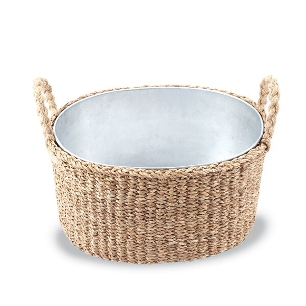 Seagrass Party Planter 2 Piece Beverage Tub Set by