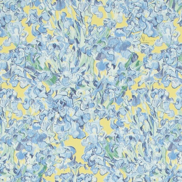 Iris Flowers 32.97 x 20.8 Floral and botanical Wallpaper by Walls Republic