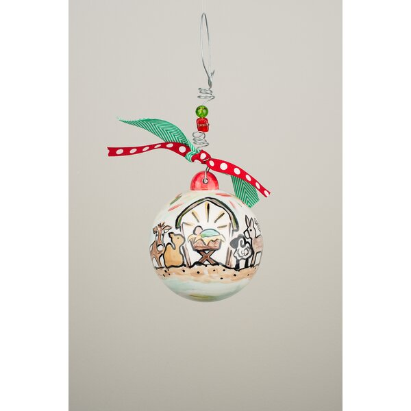 Away in the Manger Christmas Ball Ornament by The Holiday Aisle