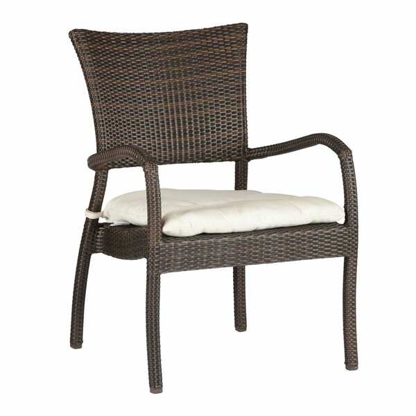 Skye Euro Patio Chair with Cushion by Summer Classics