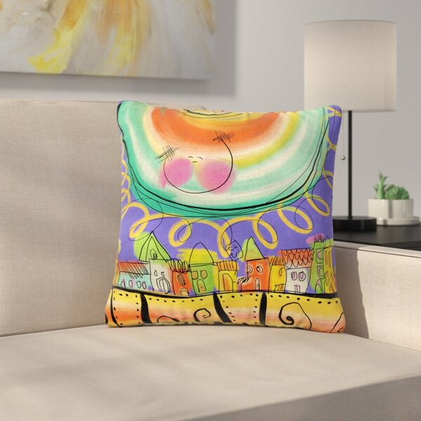 Carina Povarchik Sun Outdoor Throw Pillow by East Urban Home