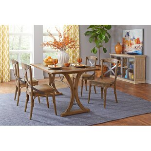 Cabana 5 Piece Solid Wood Dining Set By Gracie Oaks