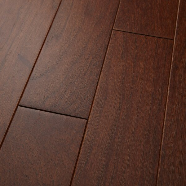 Americano 3 Engineered Hickory Hardwood Flooring in Russet by Welles Hardwood
