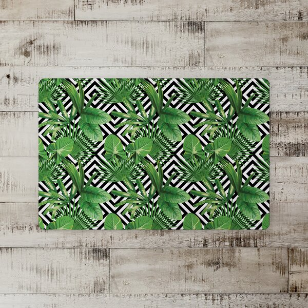 Jacoby Palm Leaves Kitchen Mat