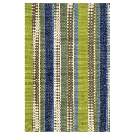 Dash and Albert Rugs Hand Woven Green/Blue Indoor/Outdoor Area Rug ...