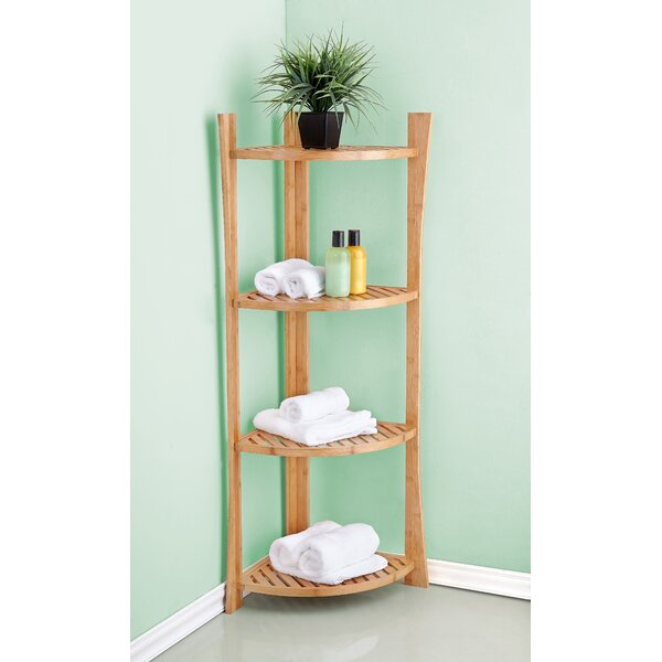 26 W x 65.15 H Bathroom Shelf by BEST LIVING INC