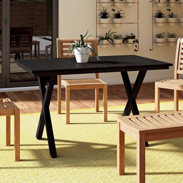Outdoor Resin Dining Table Wayfair