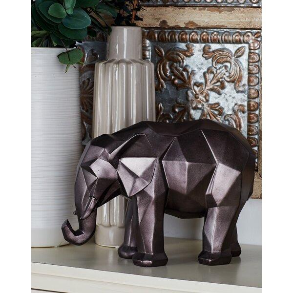 Polystone Elephant Figurine by Cole & Grey