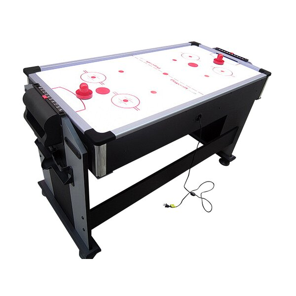 2-in-1 Sport Junior Air Hockey and Pool Table by P