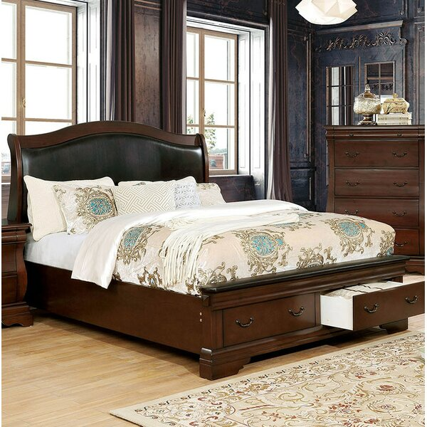 Glasco Upholstered Storage Sleigh Bed by Astoria Grand