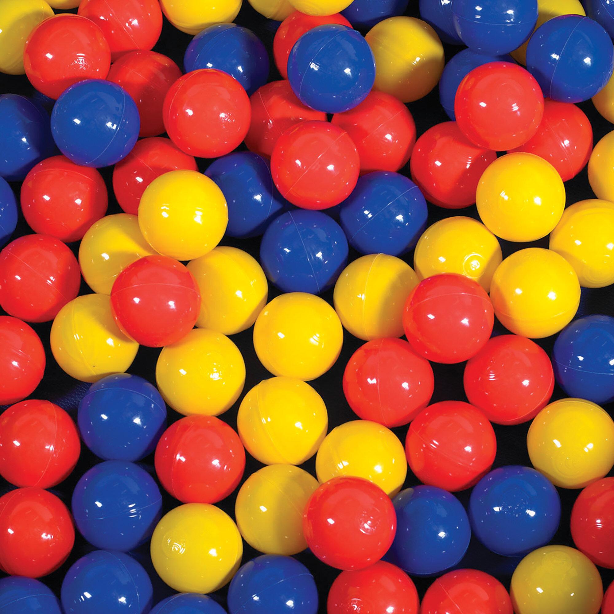 Children S Factory Plastic Play Ball Reviews Wayfair