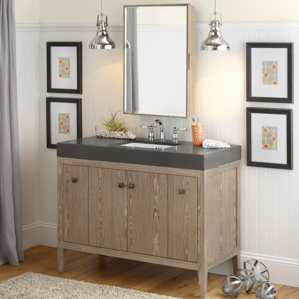 Sophie 48 Single Bathroom Vanity Set with Mirror by Ronbow