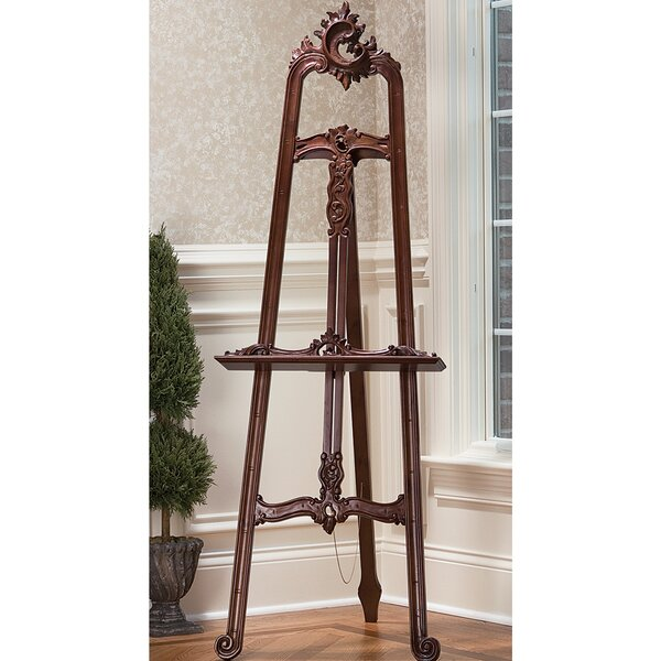 Louis XV Folding Tripod Easel by Design Toscano