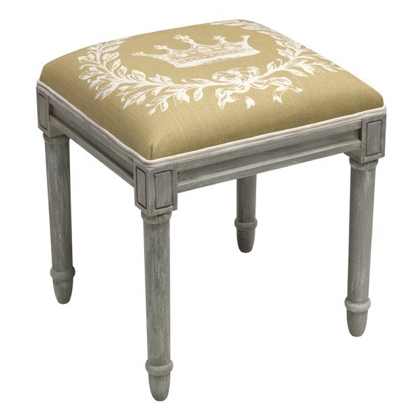 Crown Vanity Stool by 123 Creations