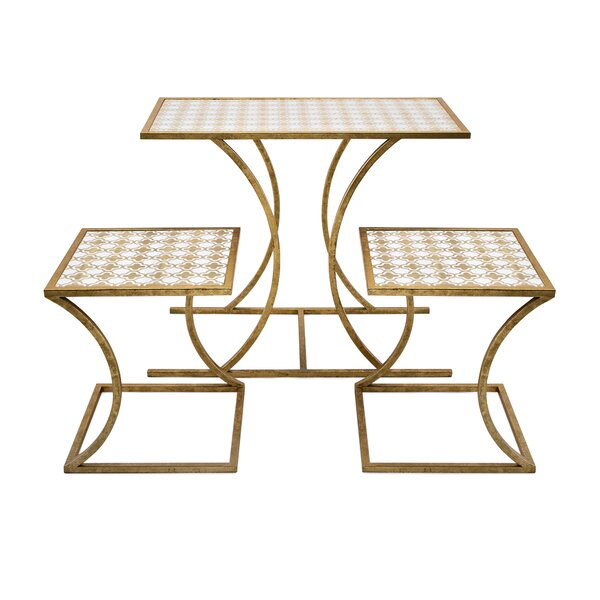 Brinley 3 Piece Nesting Tables By Everly Quinn