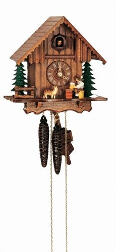 Chalet Cuckoo  Wall Clock by Schneider