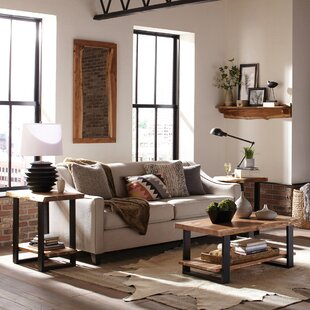 Reviews Bexton Natural 3 Piece Coffee Table Set by Foundry Select