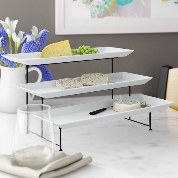 McCook Dining 3 Piece Tiered Stand Set by Greyleigh