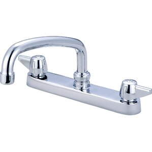 Central Brass Double Handle Centerset Sta..
