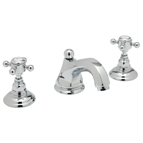 ROHL® Palladian® High Neck Widespread Lavatory Faucet With Cross Handles By Rohl