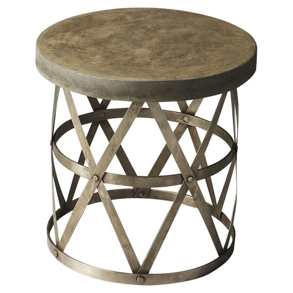 Erving End Table by Williston Forge