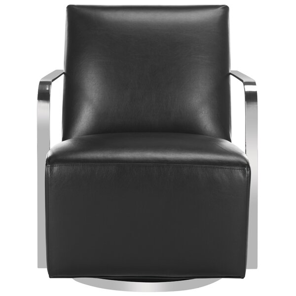 Bevill Swivel Arm Chair by Orren Ellis