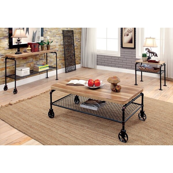Doran 3 Piece Coffee Table Set by 17 Stories