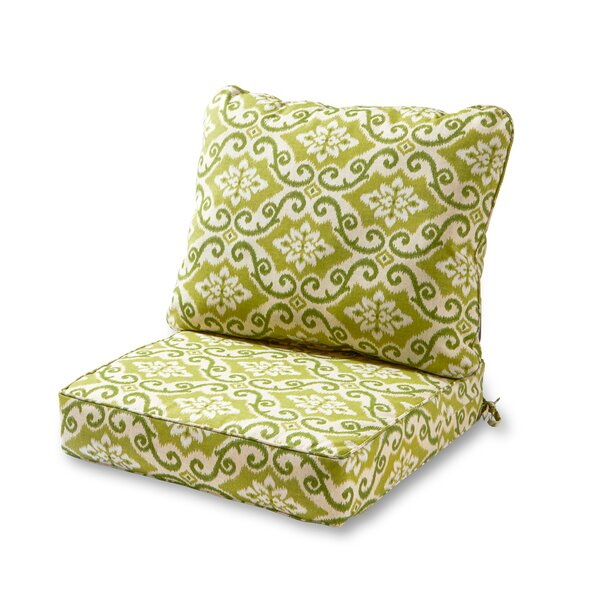 Knopp Indoor/Outdoor Lounge Chair Cushion by Alcott Hill