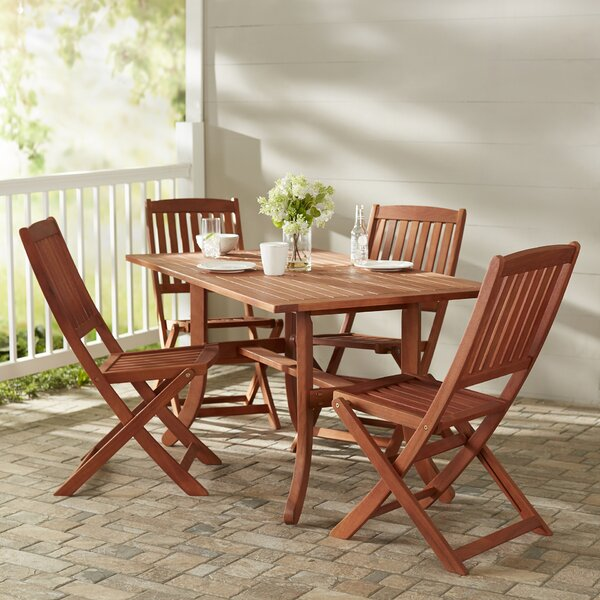 Monterry 5 Piece Dining Set By Beachcrest Home