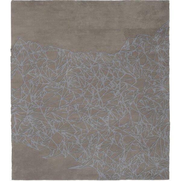 Malin Terrain Invert Hand-Tufted Wool Gray Area Rug