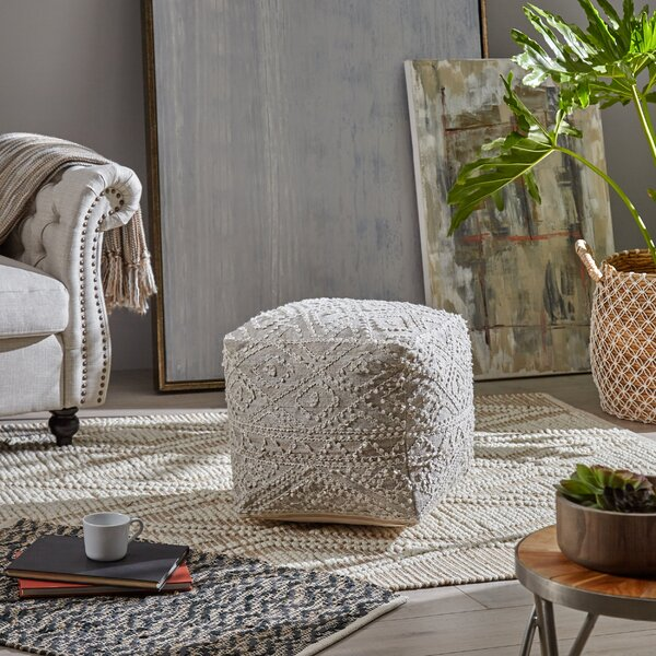 Benbow Boho Pouf By Bungalow Rose