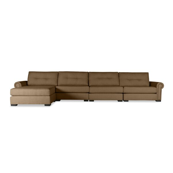 Willia Plush Deep Modular Sectional With Ottoman By Three Posts