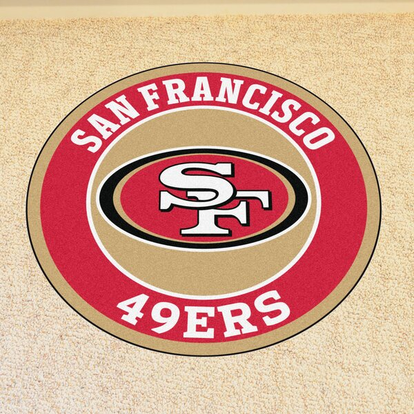 NFL San Francisco 49ers Roundel Mat by FANMATS