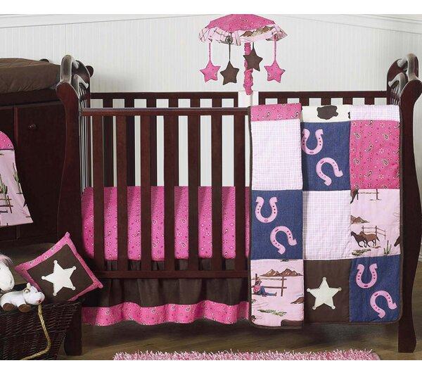 Cowgirl 11 Piece Crib Bedding Set by Sweet Jojo Designs