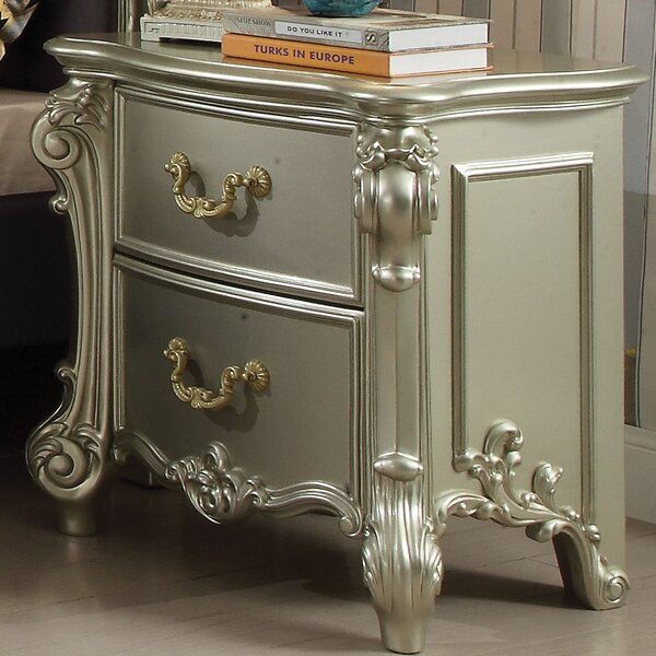Welty 2 Drawer Nightstand by Astoria Grand