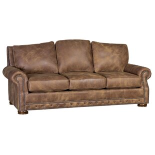 Tovar Leather Sofa Loon Peak