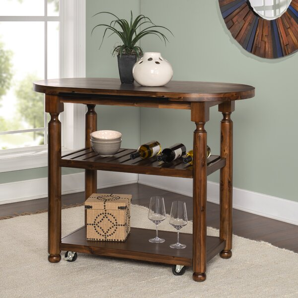 Bostick Kitchen Cart by Canora Grey