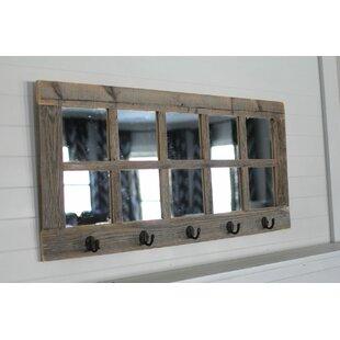 Millwood Pines Flickinger 10 Windowpane Accent Mirror