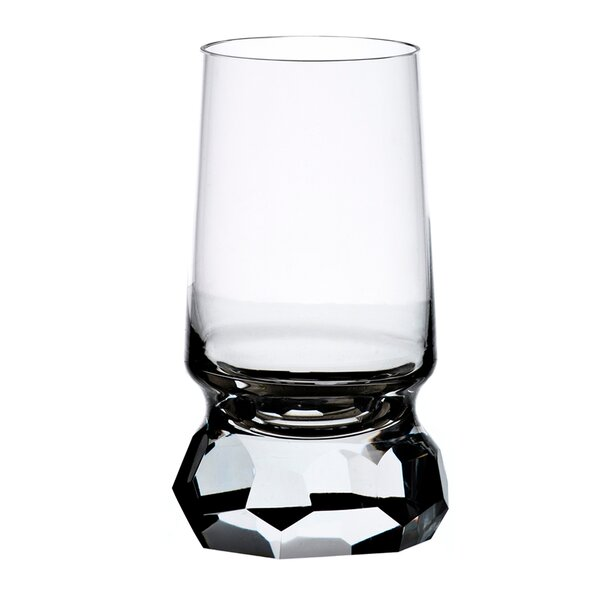 Stone 13 oz. Crystal Every Day Glass (Set of 2) by Maryland China