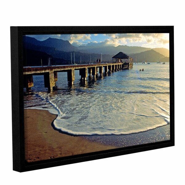A Land Called Hanalei by Kathy Yates Framed Photographic Print by ArtWall