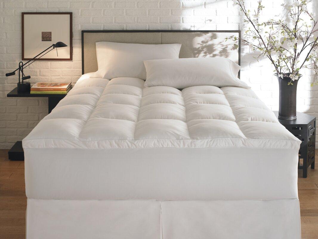 extra firm mattress topper | wayfair