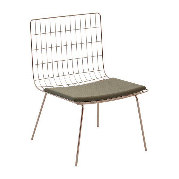 Perpetual Mesh Link Patio Chair with Cushions by Seasonal Living