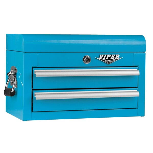 18 W 2 Drawer Top Chest By Viper Tool Storage.