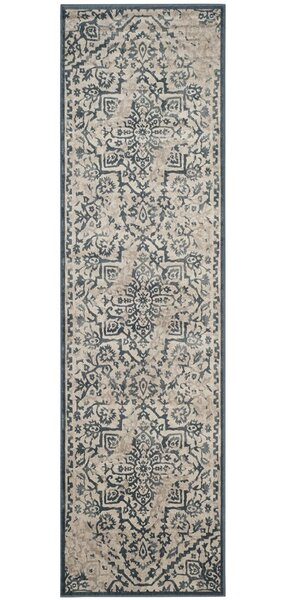 Ercole Beige/Blue Area Rug by Darby Home Co