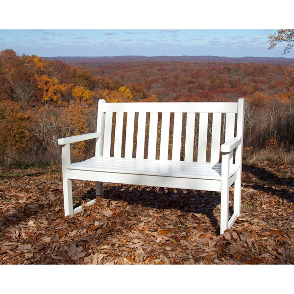 Traditional Plastic Garden Bench by POLYWOOD®