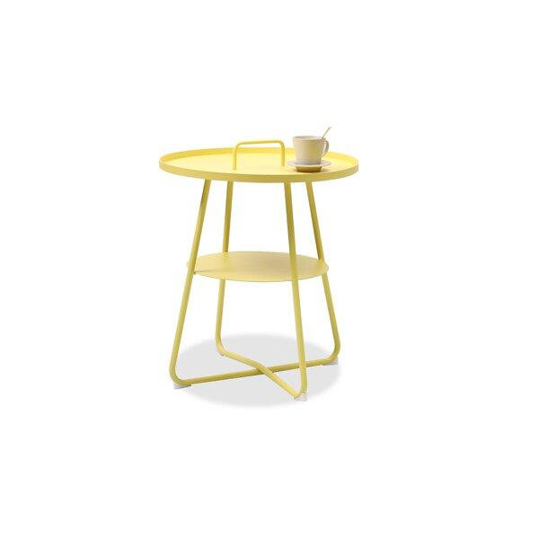 Tappahannock Metal Side Table by Ebern Designs