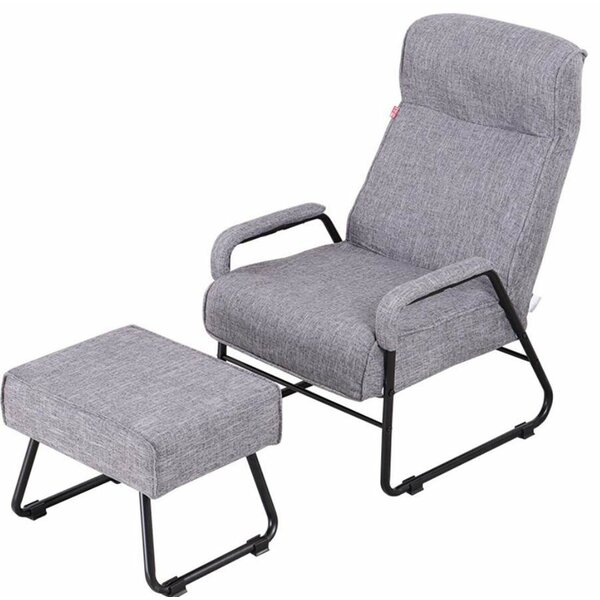 Stimson Manual Recliner With Ottoman By Ebern Designs