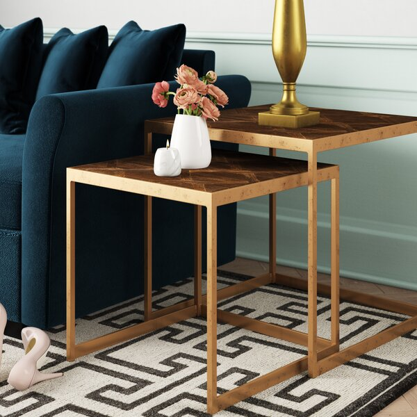 Lansford 2 Piece Nesting Table By Mercer41