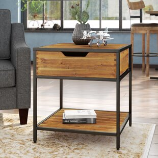 Read Reviews Ivana End Table ByTrent Austin Design