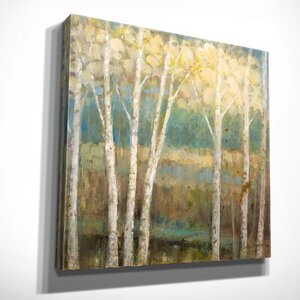'Nature's Palette II' by Ruane Manning Painting Print on Wrapped Canvas by Wexford Home